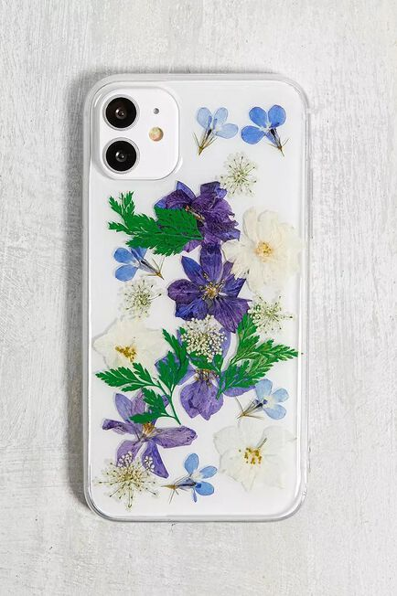 Urban Outfitters - Sky Pressed Flowers IPhone 11 Case