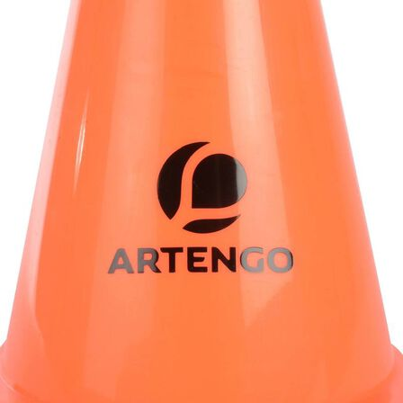 ARTENGO - 19 cm Tennis Court Marking Cones 6-Pack, Unique Size