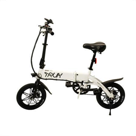 TRUK BIKES - Truk Bikes GT14 White Electric Bike