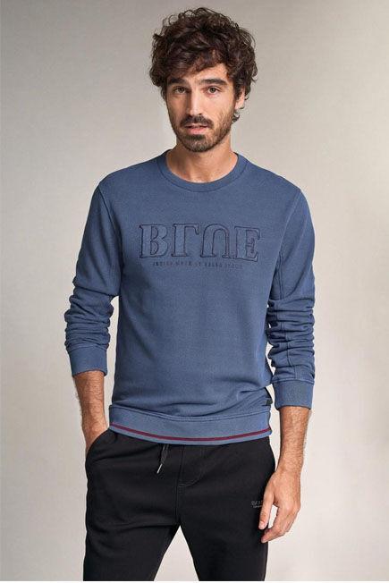 Salsa Jeans - Blue Cotton sweater