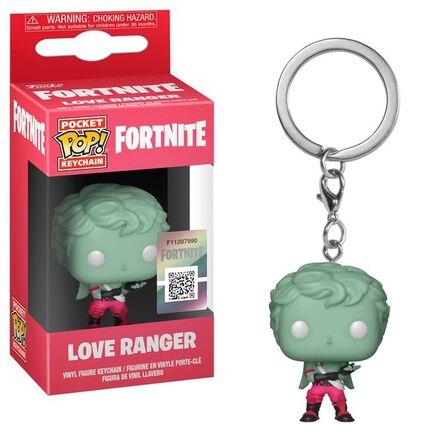 FUNKO TOYS - Funko Pop Games Fortnite Love Ranger Vinyl Keychain