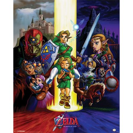 PYRAMID POSTERS - The Legend of Zelda Ocarina of Time Poster [40 x 50 cm]