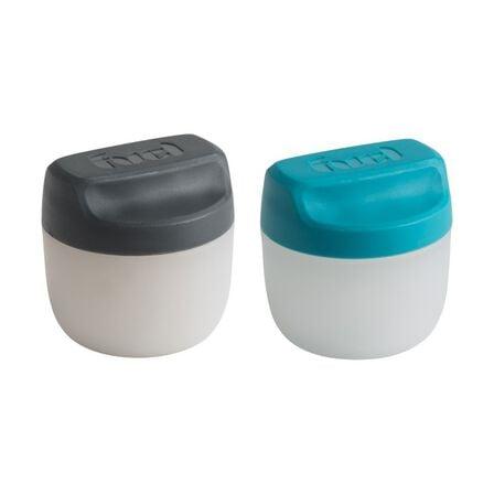 TRUDEAU - Trudeau Fuel Condiment Jars Tropical & Charcoal [Set of 2]
