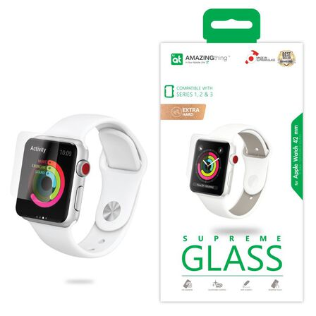 AMAZING THING - Amazing Thing Crystal Screen Protector for Apple Watch Series 3/2/1 42mm