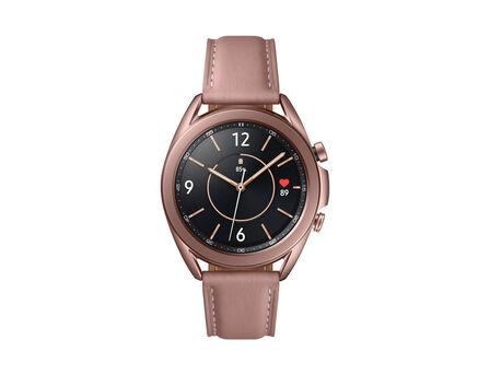 SAMSUNG - Samsung Galaxy Watch 3 SS 41mm Gold + JBL TWS T120 Black In-Ear Earphones