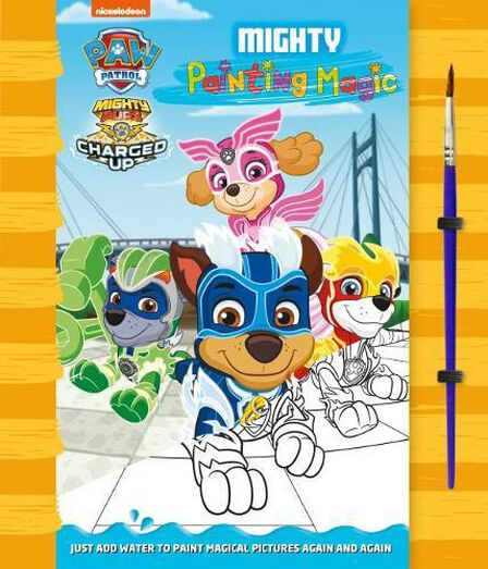 CENTUM BOOKS - Paw Patrol Painting Magic