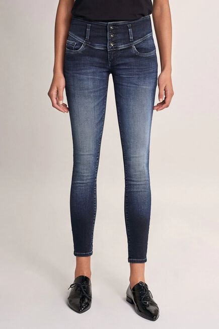 Salsa Jeans - Blue Mystery Push Up skinny premium wash jeans