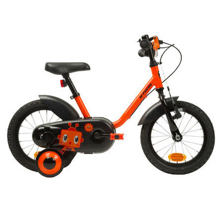 B TWIN - Kids' 14-inch bike 500 (3-4.5 years) - robot