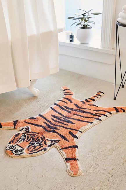 Urban Outfitters - Assorted Tiger Bath Mat
