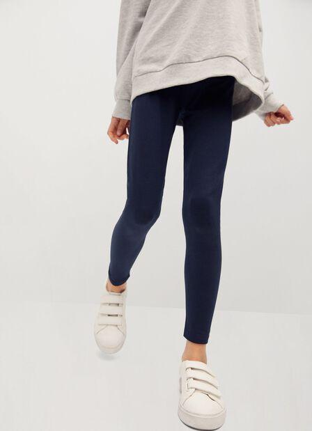 Mango - navy Organic cotton leggings
