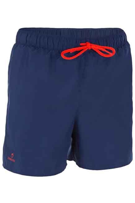 OLAIAN - Hendaia Boys' Short Boardshorts - Prems Dark Blue, 8-9Y