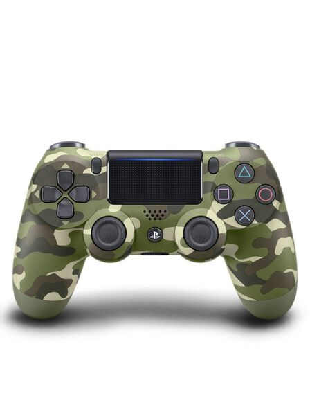 Sony - Sony DualShock 4 Wireless Controller Green Camouflage V2 Ps4