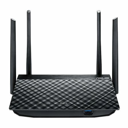 ASUS - Asus Rt-Ac58U Ac1300 Dual Band Wifi Router with Mu-Mimo Router Black