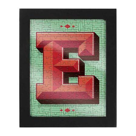 RIDLEYS - Ridleys Alphabet Jigsaw Puzzle with Frame Letter E