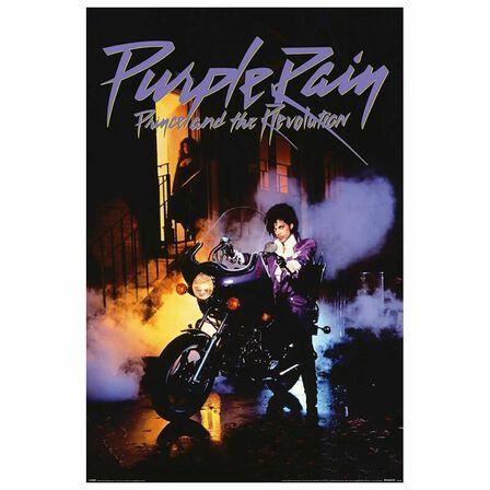 PYRAMID POSTERS - Prince Purple Rain Poster 61 x 91.5cm