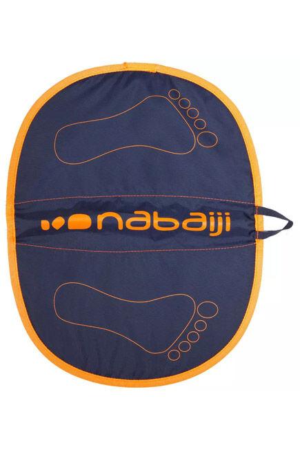 NABAIJI - Swimming Hygiene Feet Pool Mat - Blue Orange, Unique Size