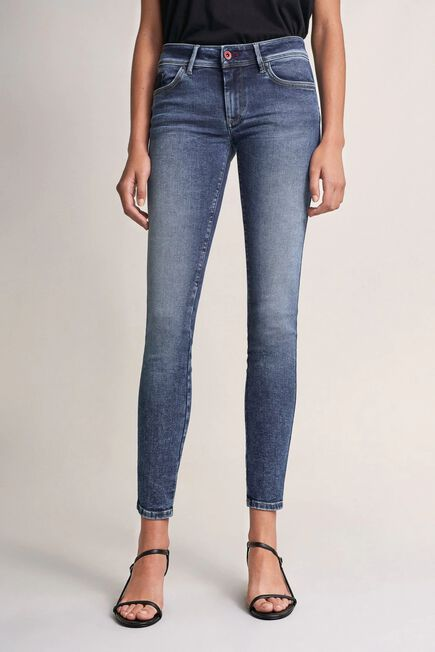 Salsa Jeans - Blue Push Up Wonder skinny jeans with detail