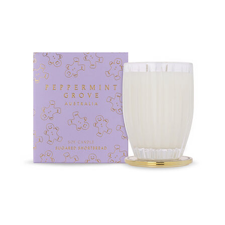 PEPPERMINT GROVE - Peppermint Grove Sugared Shortbread Candle 350g