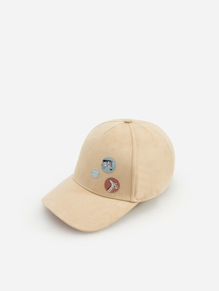 Reserved - Faux suede cap - Beige