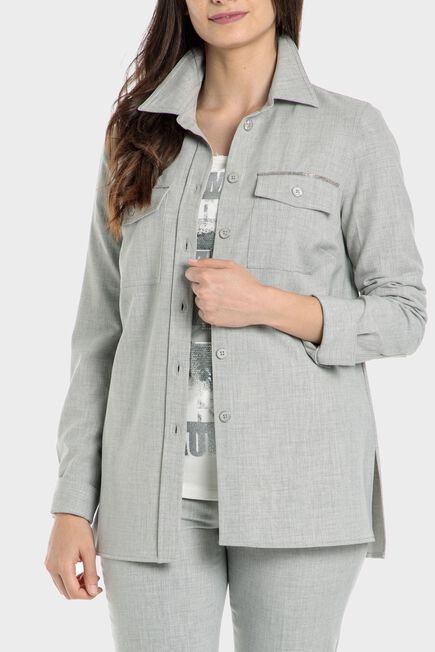 Punt Roma - Grey overshirt
