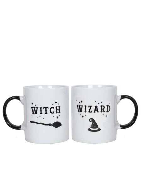 JONES HOME AND GIFT - Witch and Wizard Mug Set