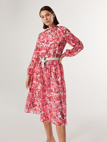 Reserved - Multicolor Patterned Dress, Women