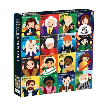 USBORNE PUBLISHING LTD UK - Mudpuppy Little Scientist 500 Piece Family Puzzle
