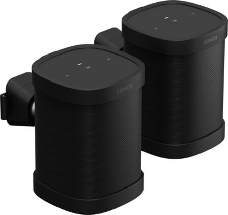 SONOS - Sonos Mount for One and Play 1 Pair Black