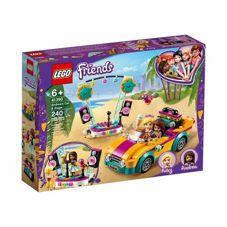 LEGO - LEGO Friends Andrea's Car & Stage 41390