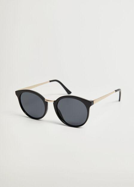 Mango - black Metal bridge sunglasses, Women