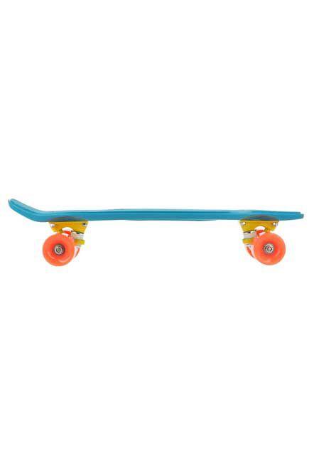 OXELO - Yamba cruiser skateboard - coral blue, Unique Size
