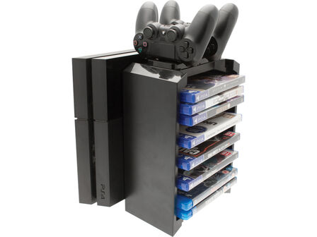VENOM - Venom Storage Tower & Twin Charger for PS4