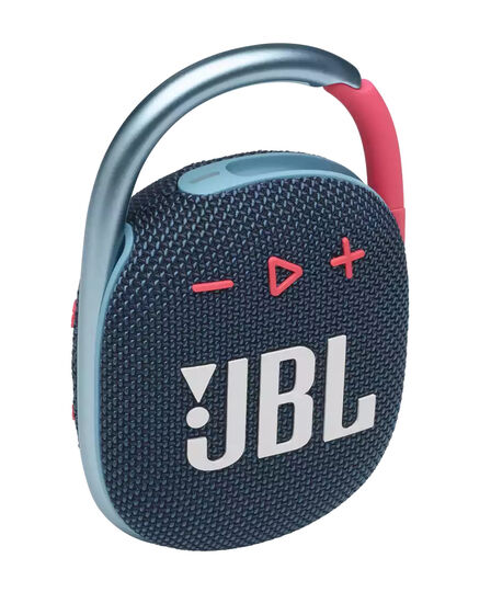 JBL - Jbl Clip4 Blue/Pink Portable Speaker