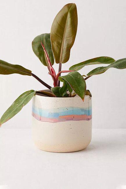 Urban Outfitters - ASSORT Soft Stripe Ceramic Planter
