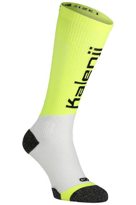 KIPRUN - Compression running socks - yellow, 2.5-5 EU35-38 M