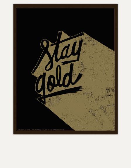 USTUDIO DESIGN LTD - Ustudio Stay Gold Screenprint