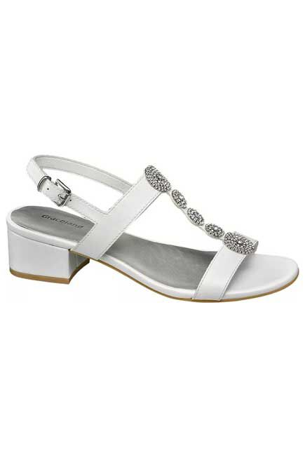 Graceland - Silver Sandals, Women