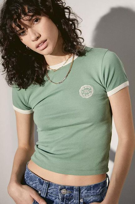 Urban Outfitters - GRN BDG Ringer Baby T-Shirt