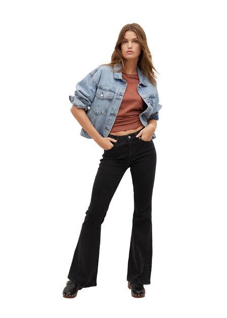 Mango - open grey Flared jeans Flare, Women