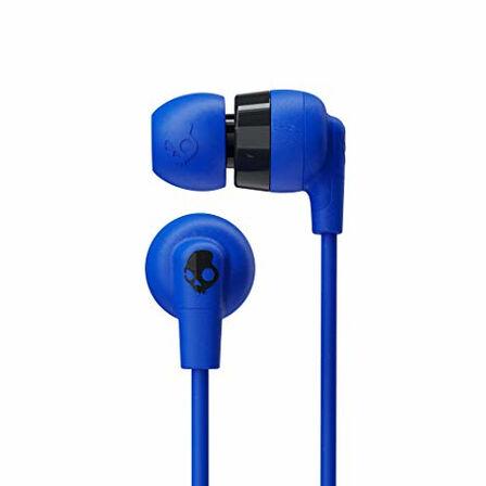 SKULLCANDY - Skullcandy Ink'd+ Cobalt Blue In-Ear Earphones with Mic