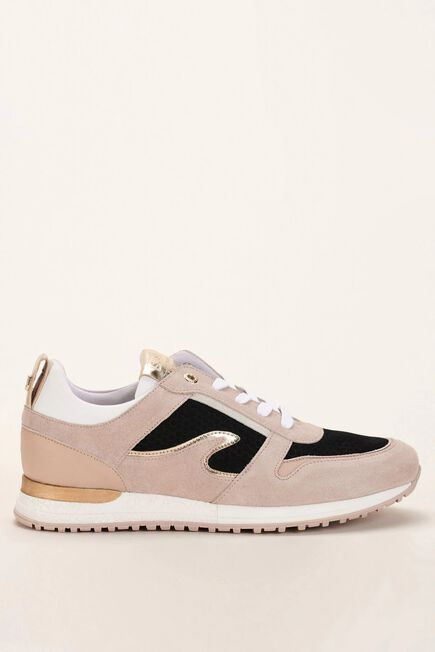 Salsa Jeans - Beige Trainers in coloured leather