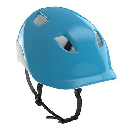 BTWIN - S/53-56Cm 100 Kids' Cycling Helmet - Blue - Blue