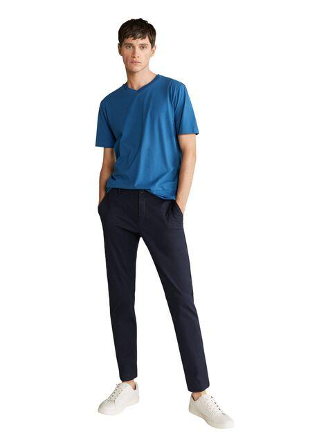 Mango - Lt-pastel blue 100% sustainable cotton t-shirt