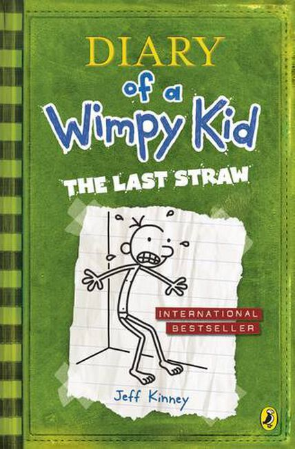 PENGUIN BOOKS UK - Diary Of A Wimpy Kid The Last Straw
