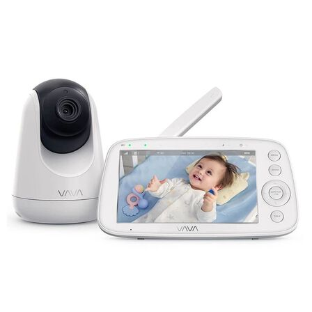 VAVA - VAVA 720p 5-Inch HD Display Video Baby Monitor