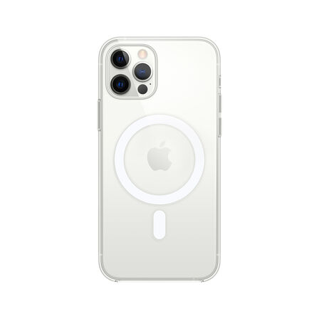 APPLE - Apple Clear Case with MagSafe for iPhone 12/Pro
