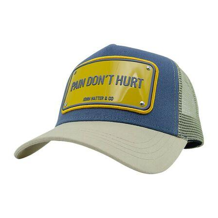 JOHN HATTER & CO - John Hatter Pain Don't Hurt Unisex Cap Blue/Stone