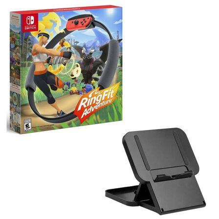 NINTENDO - Ring Fit Adventure [US] + Snakebyte Game Stand - Nintendo Switch