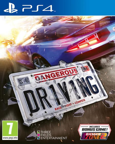 MAXIMUM GAMES - Dangerous Driving - PS4