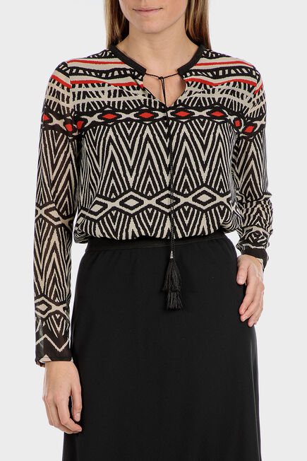Punt Roma - Printed blouse